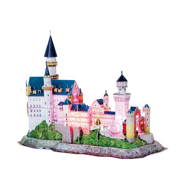新天鹅城堡3d立体拼图模型
