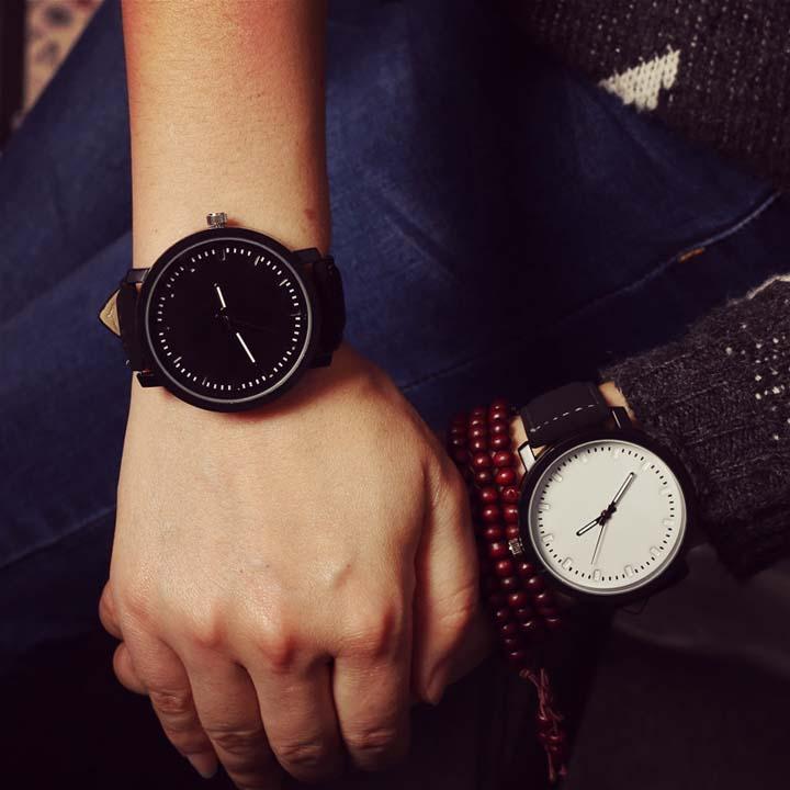 复古风情侣手表