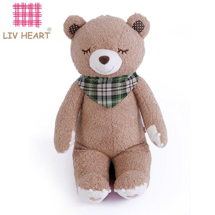 liv heart丽芙熊毛绒玩具大号可爱娃娃