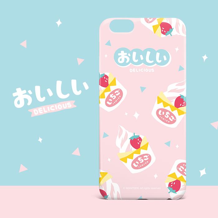 新款卡通可爱创意全包防摔挂绳零食甜点苹果iphone6/7/8/x手机壳