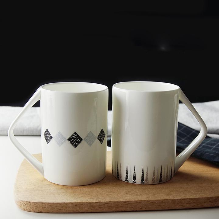 现代杯子图案设计