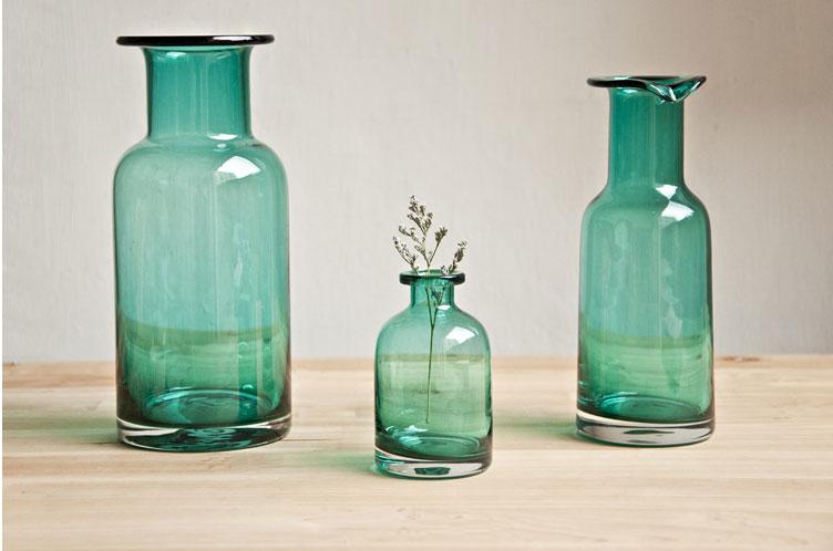 欧式文艺复古玻璃花瓶