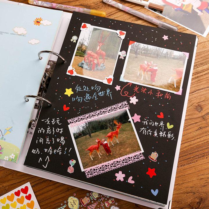 幼儿童宝宝成长纪念册相册