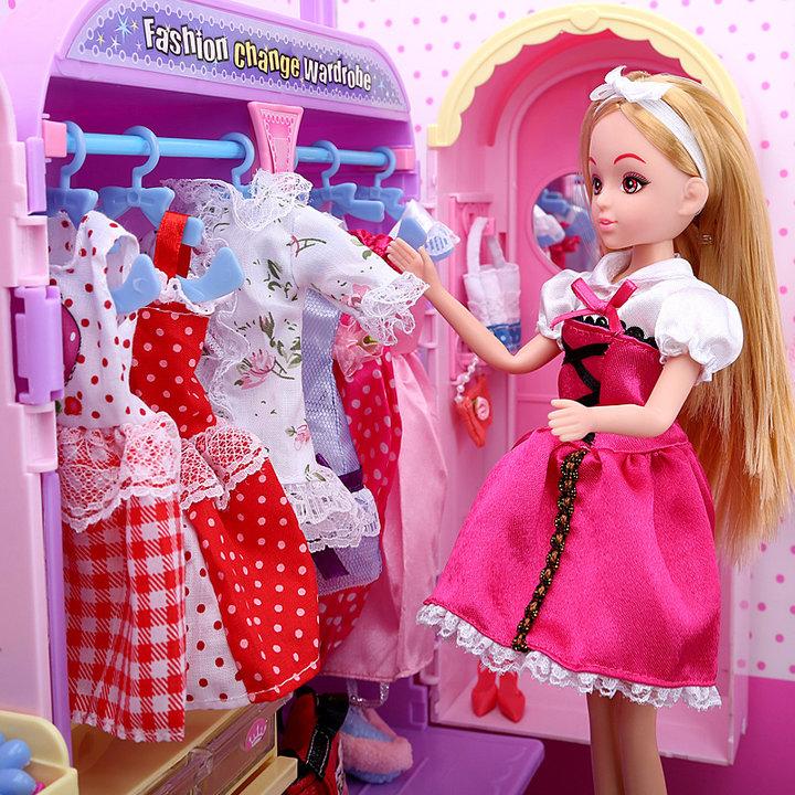 芭比娃娃换装衣橱礼盒