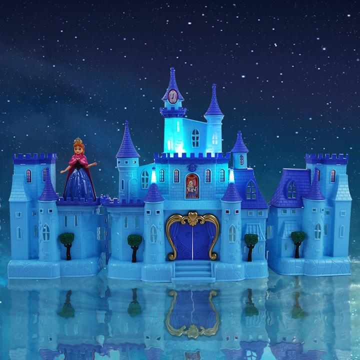 这款超大的城堡真是梦幻极了,可以满足每个小女孩心里的公主梦,有精致的梳妆台和卧室,城堡还可以折叠起来,按下按钮后会有绚丽的灯光和音效,逼真又好玩~ 颜色分类