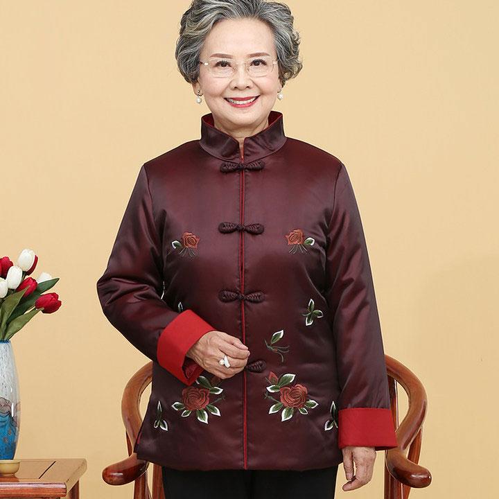 老年棉袄女