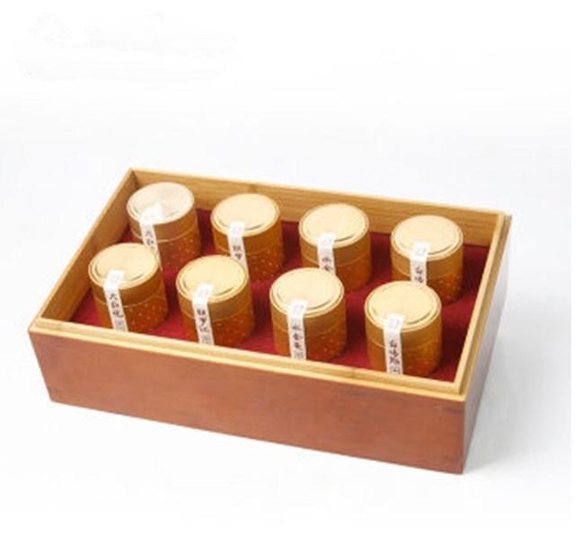 四大名枞小罐茶礼盒装(8罐)