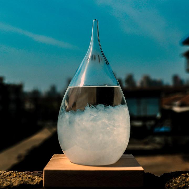 经典水滴天气预报瓶风暴瓶图片