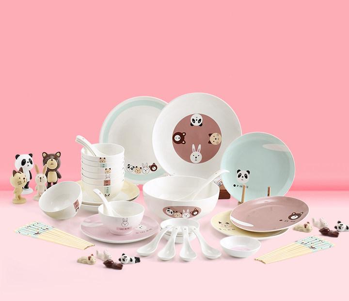 个性创意儿童餐具套装礼盒