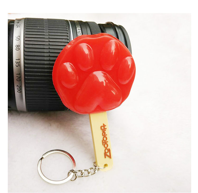 疯狂动物城钥匙扣 爪爪冰棍挂件