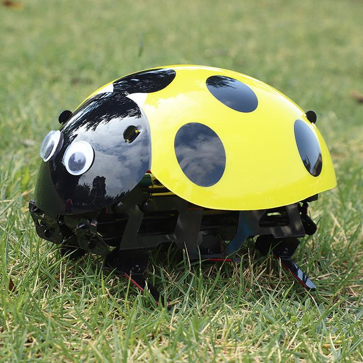 抖音瓢虫机器人儿童玩具遥控智能仿生动物男孩逗逗虫小蜜蜂机器人