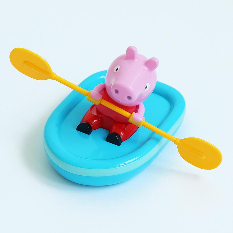 佩奇小猪洗澡玩,掌声送给社会人~抖音网红,敲可爱的无聊玩具,扭动