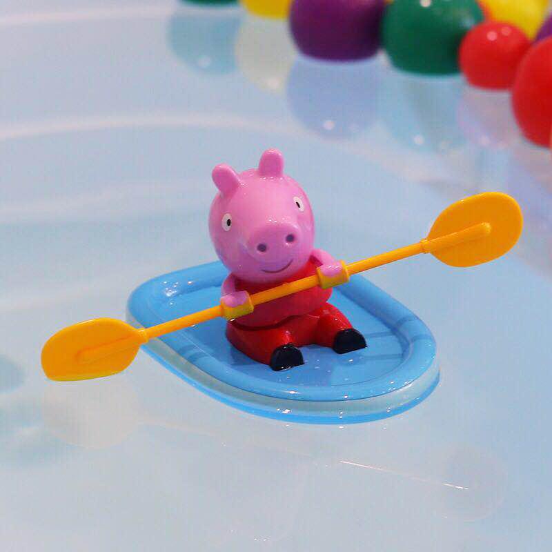 小猪佩奇划船 抖音玩具小船宝宝洗澡玩具神器婴儿戏水夏网红发条
