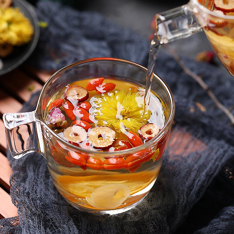玫瑰桂圆红枣枸杞菊花养生八宝茶 组合花茶包