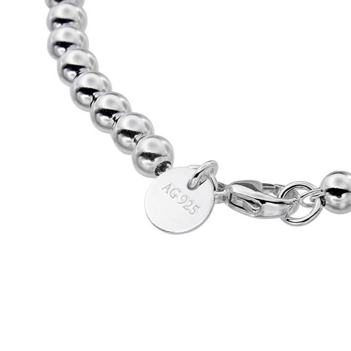 TIFFANY 蒂芙尼ETURNTOTIFFANY系列珠式珐琅粉心手链