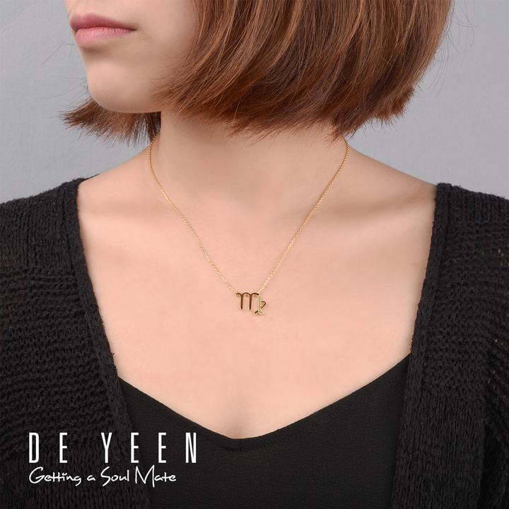 得音 DE YEEN 十二星座项链 处女座项链 独立设计师