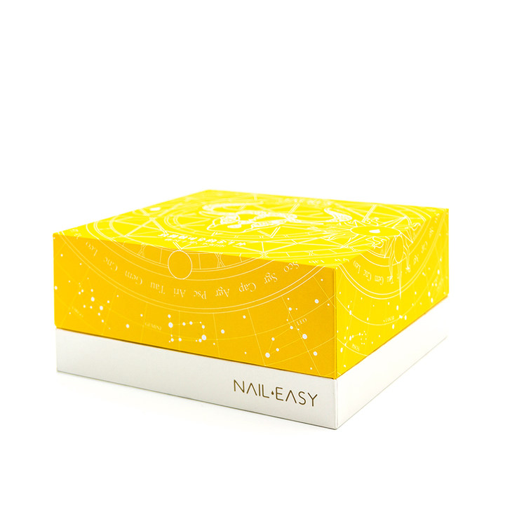 naileasy金牛座蛋糕款音乐盒可剥可撕拉无毒快干指甲油