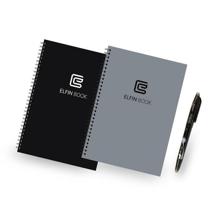 Elfinbook可重复书写笔记本随身电子记事本手写App智能扫描云备份