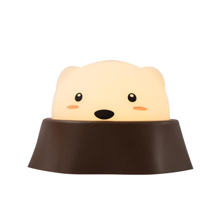 MUID 打地鼠灯创意LED充电节能互动小夜灯卧室床头灯可爱礼物