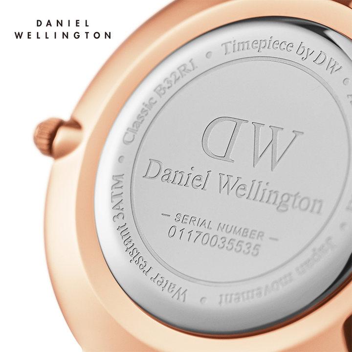 官方直发Danielwellington女生手表 dw手表女 潮流简约学生手表