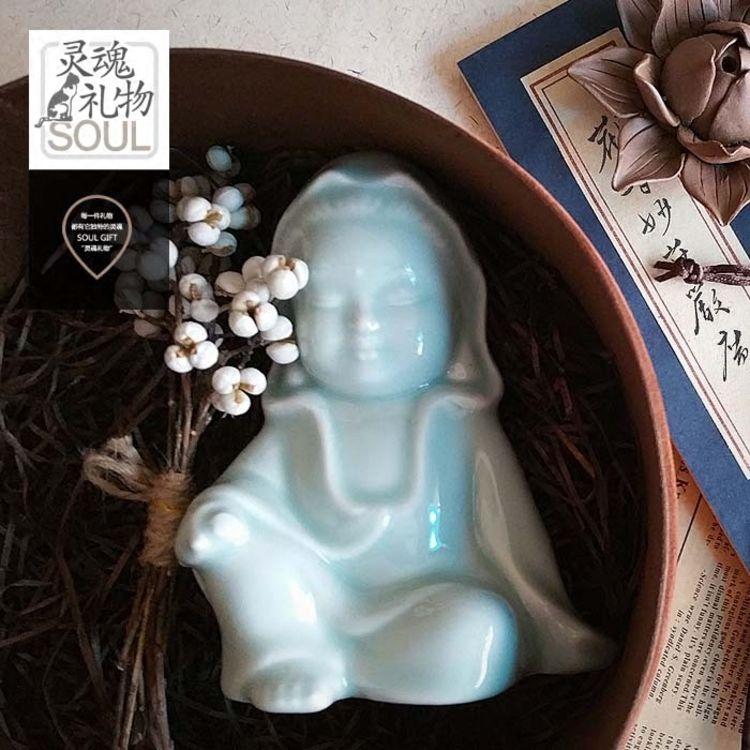 静心观音朋友平安佛教,感恩节送TA暖心小物,让礼物替你表谢意!