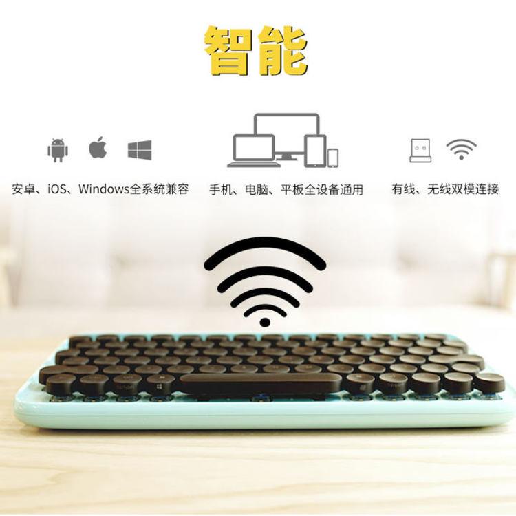复古文艺,键盘治愈系:高颜值机械键盘、人体工学键盘