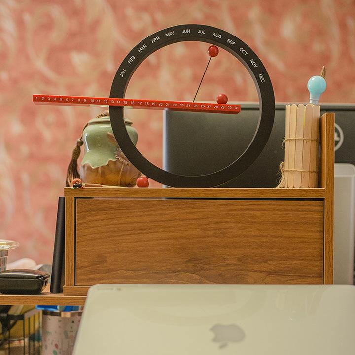 ROLLPARK 创意日历挂历台历手动年历摆件 客厅卧室创意礼品家居