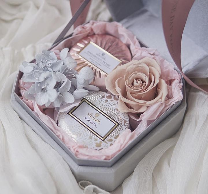 朝暮七夕情人节Ecoya/Voluspa香薰礼盒婚礼伴手礼物无烟香氛蜡烛