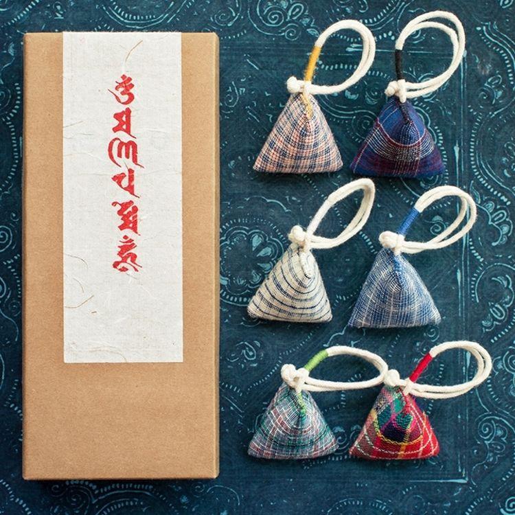 纯手工·刺绣·香囊,自营礼盒|除了月饼,中秋节还可以送这些