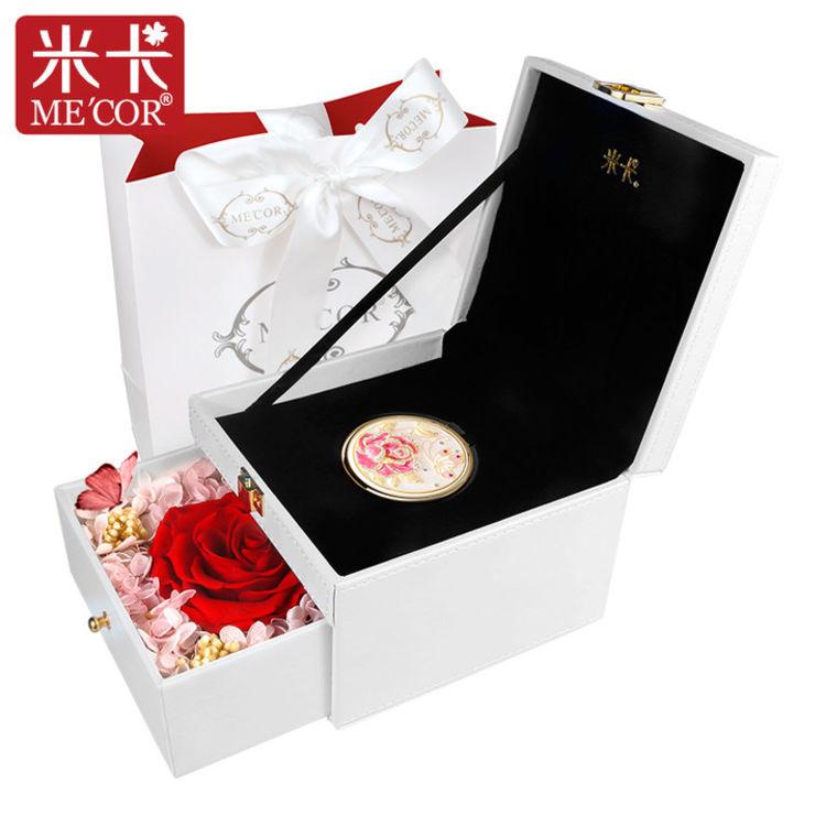 七夕情人节专属定制,七夕爱礼 | 红玫瑰的永生花,被偏爱的都是今生挚爱