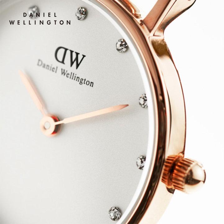 支持验货Danielwellington丹尼尔惠林顿DW男女手表情侣对表正品皮带石英表