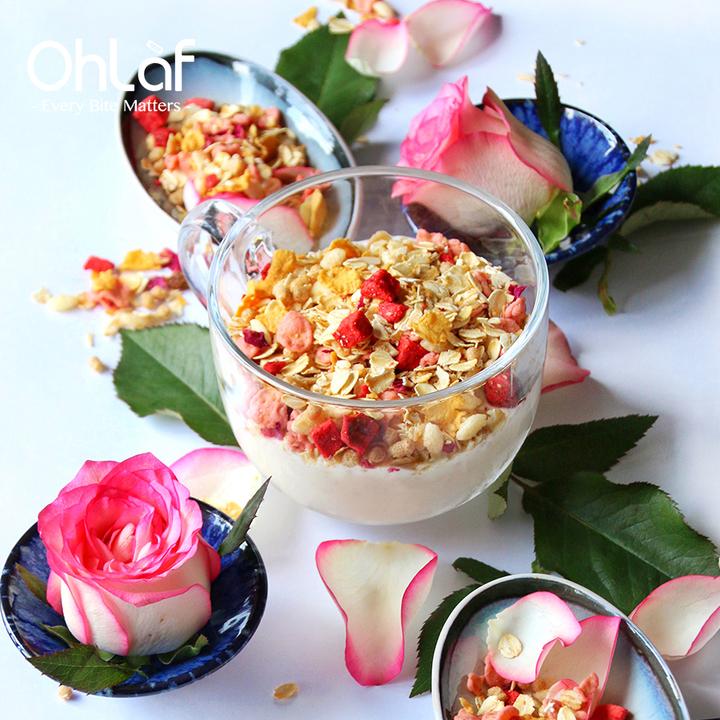 Ohlaf JAR Roseberry玫瑰草莓混果谷物