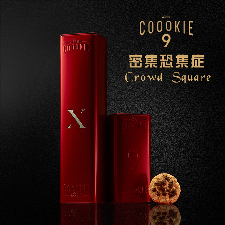 Coookie9 NO.1密集恐惧症法式甜品伴手礼巧克力豆大块曲奇西饼礼盒