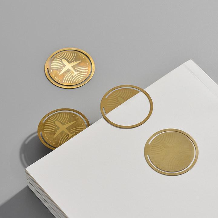 意外设计时光书签复古怀旧黄铜书签金属中国风创意礼品文具