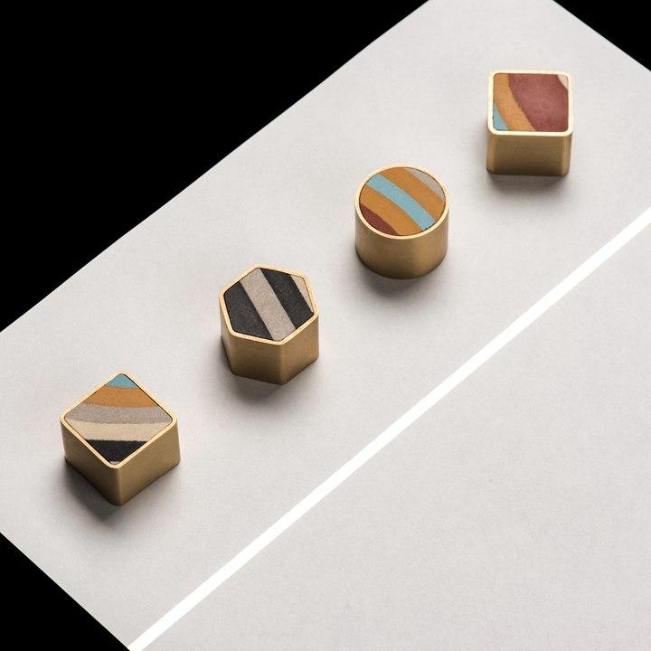 家居装饰冰箱贴见南花多功能强力磁吸创意留言贴个性黄铜吸铁石
