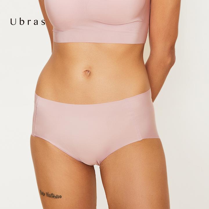 Ubras旗舰店:轻薄底裤无痕零束缚内裤一片式无痕底裤女