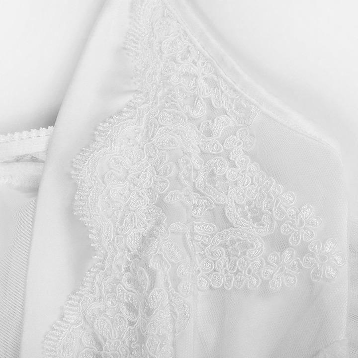 乐潘朵蕾丝刺绣V领性感吊带家居服