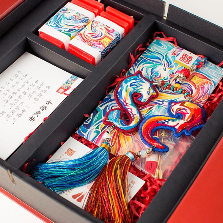 纯手工·刺绣·挂件,有这些颜值爆表的礼盒,送礼就够了!