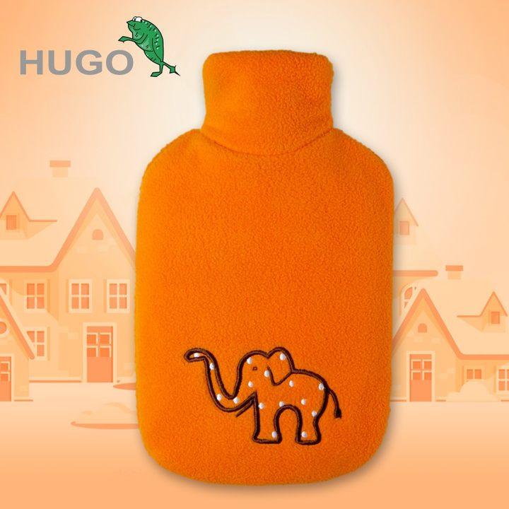 德国进口HUGO热水袋注水小号迷你暖肚婴儿暖水袋防爆儿童小暖手宝