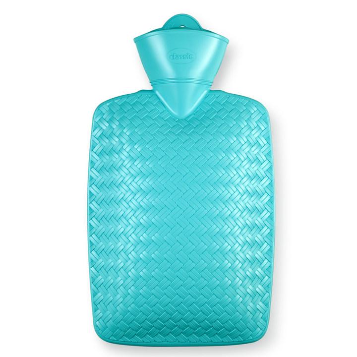 17年新品编织限量款 德国进口Hugofrosch注水热水袋充水暖手宝