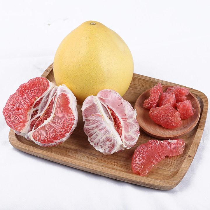 福建琯溪红心蜜柚2只约4.5-5斤