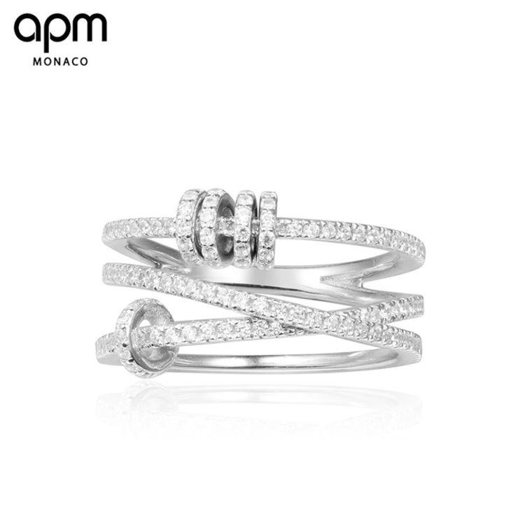 """穿孔三圈戒指,「APM明星同款首饰」买得起的""""真金白银真宝石"""""""