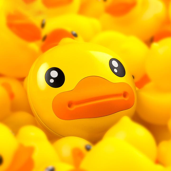 暖宝宝B.Duck小黄鸭usb暖手宝防爆无水便携可爱迷你电暖充电宝