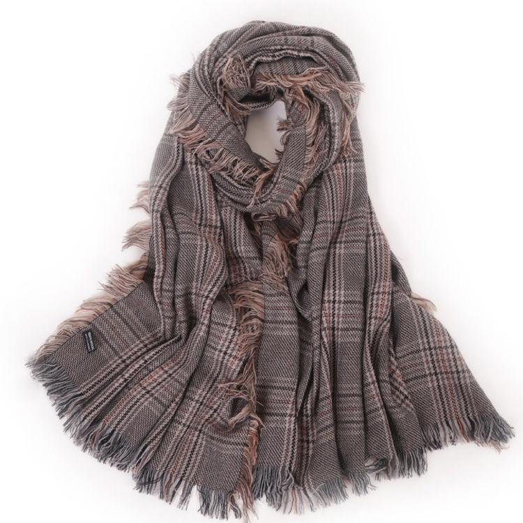 杨幂同款温暖保暖,天冷了,好看百搭女式围巾来一打!