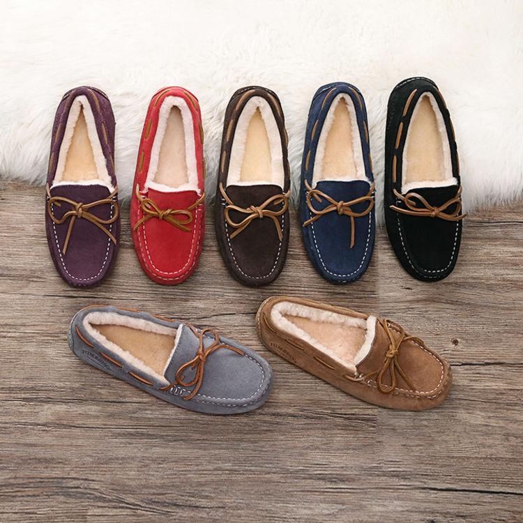 豆豆鞋 羊皮毛一体,脚暖了,全身才真的暖 ︳澳洲正品UGG折扣场