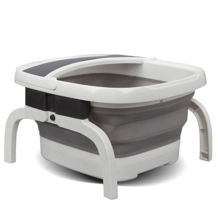 折叠式电动按摩足浴盆