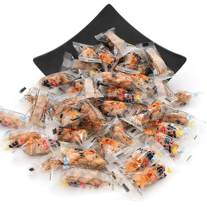 四小妞手工小麻花零食品412g袋装多口味小吃