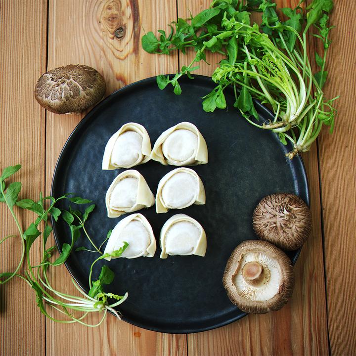 飤心暖食 | 香菇荠菜手工馄饨 健康半成品料理包 顺丰