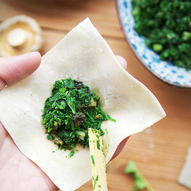 飤心暖食 | 净素三珍馄饨 健康半成品料理包 顺丰