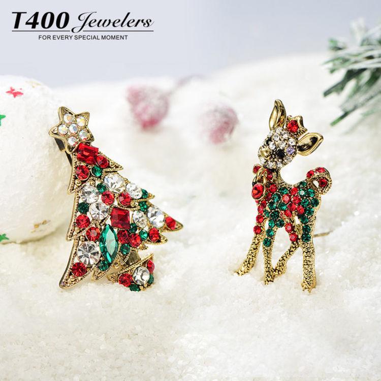 圣诞系列四款新品,圣诞首饰①:漂亮的人都开始准备过圣诞节了!